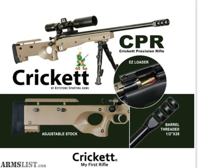 ARMSLIST - For Sale: Crickett CPR 22LR