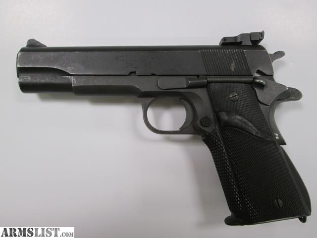 ARMSLIST - For Sale: Used Springfield 1911 45 ACP