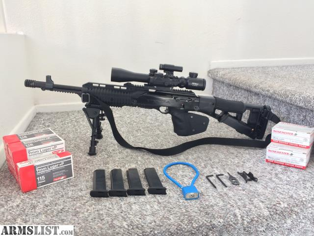 ARMSLIST - For Sale: Hi-Point 995TS 9mm carbine with