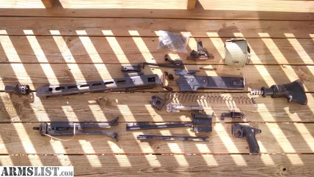 ARMSLIST - For Sale: M53 parts kit and barrel