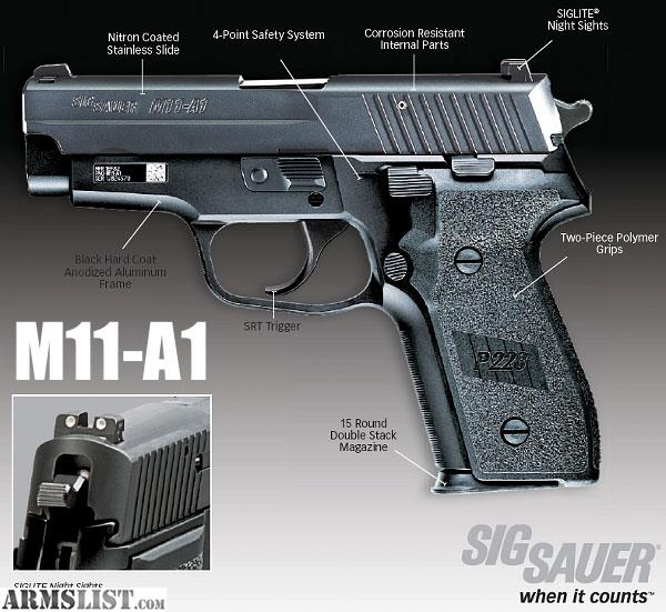 For Sale Trade Sig Sauer P229 9mm Tacpac With: For Sale/Trade: Sig Sauer M11-A1 P228 / P229