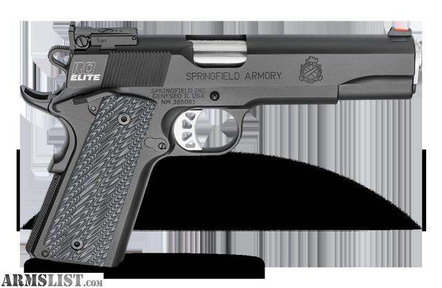 ARMSLIST - For Sale: FS: Springfield Range Officer Elite