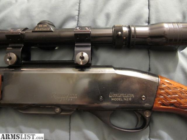 ARMSLIST - For Sale: Remington Woodsmaster Model 742 BDL