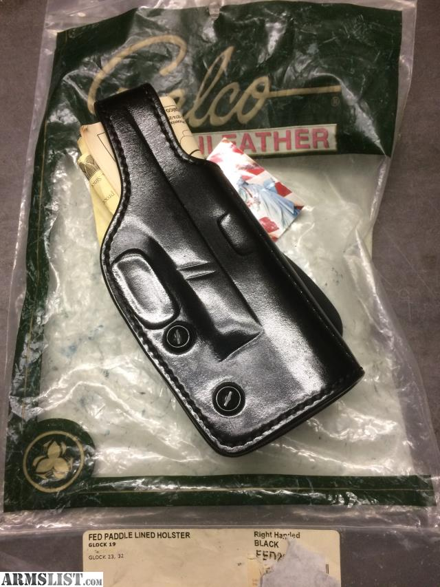 ARMSLIST - For Sale: GALCO GLOCK 19 PADDLE HOLSTER RIGHT HAND