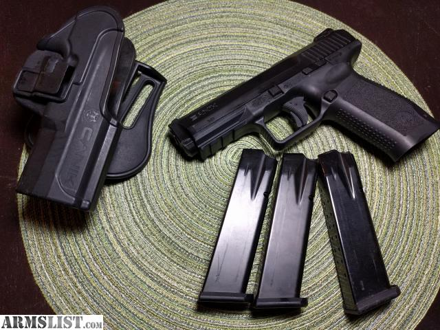 ARMSLIST - For Sale: Canik TP9SF w/ 3 mags & holster