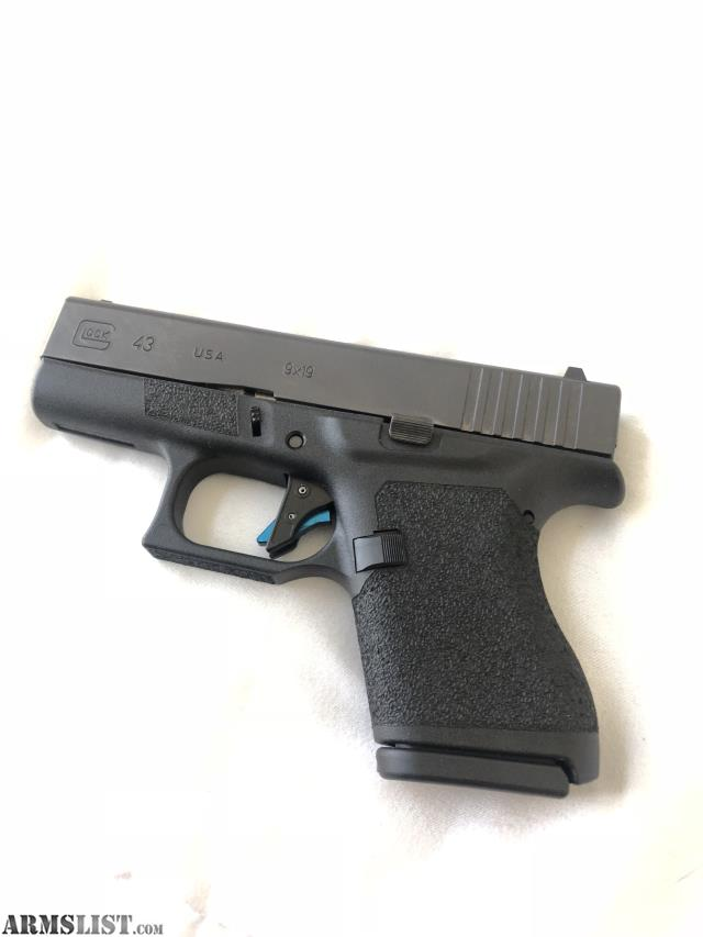 ARMSLIST - For Sale: Glock 43 with LWS stealth frame package