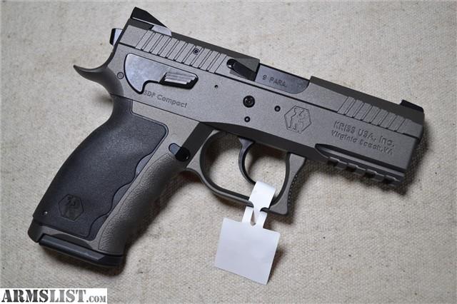 ARMSLIST - For Sale: Kriss Sphinx Alpha Wolf 9mm Compact SDP NIB