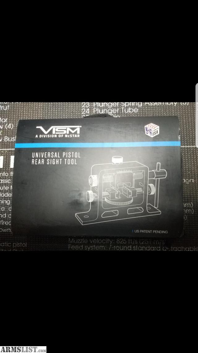 ARMSLIST - For Sale: NiB Vism Universal Gun Sight Tool