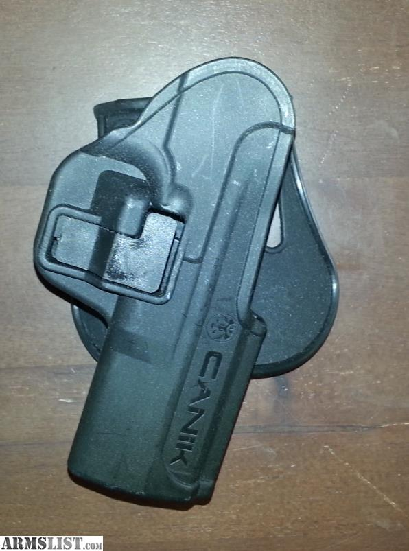 ARMSLIST - For Sale: Canik PT9SF serpa style holster