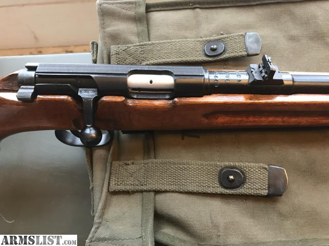 ARMSLIST - For Sale: Military Bolt action  22 long rifle