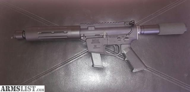 ARMSLIST - For Sale: 9mm AR pistol - Glock lower!