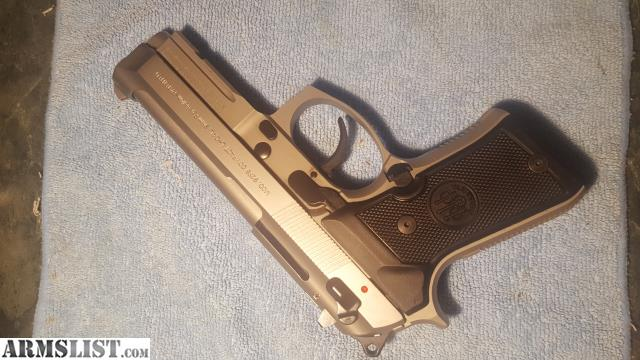ARMSLIST - For Sale: Beretta 92FS compact w/ rail M9A1