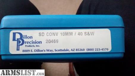 ARMSLIST - For Sale: Dillon Square D 40 Cal conversion kit