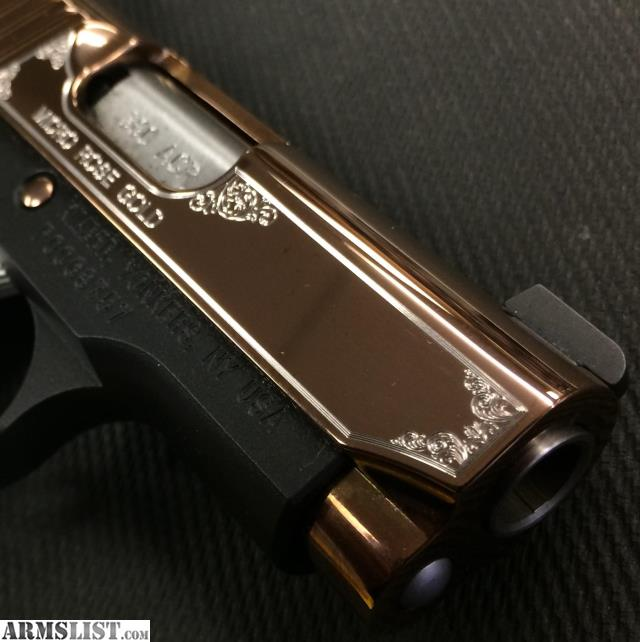 ARMSLIST - For Sale: Kimber Micro 380 Rose Gold $939 99