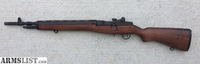 Armslist For Sale M1a Scout Squad 18 Barrel W M14 Wood Stock