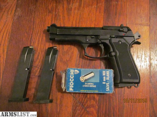 ARMSLIST - For Sale: Beretta 92 BLANK GUN