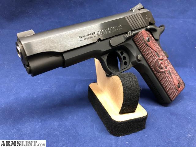 Lightweight 1911: Colt 1911 Lightweight Commander 38 Super