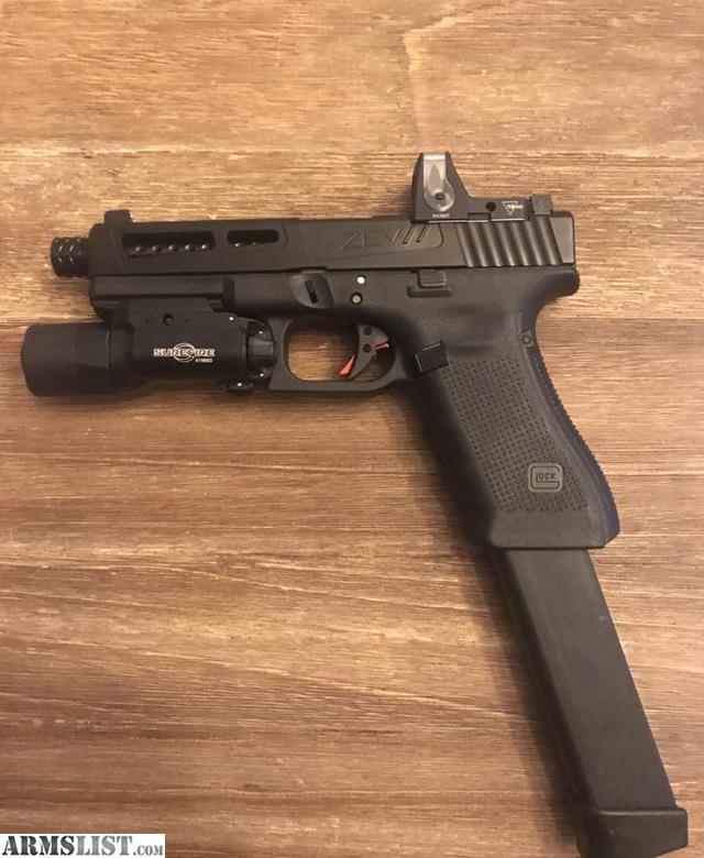 ARMSLIST - For Sale: Custom Glock 17 Gen 4 with ZEV Slide ...