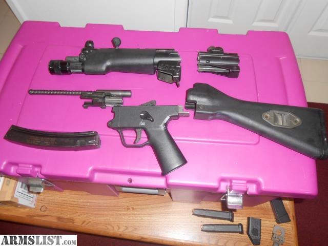 ARMSLIST - For Sale: HK MP5 GERMAN 9MM SMG DEMILLED PARTS KIT