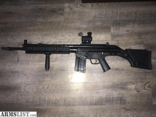 ARMSLIST - For Sale/Trade: C308 with PRS2 stock and vortex red dot