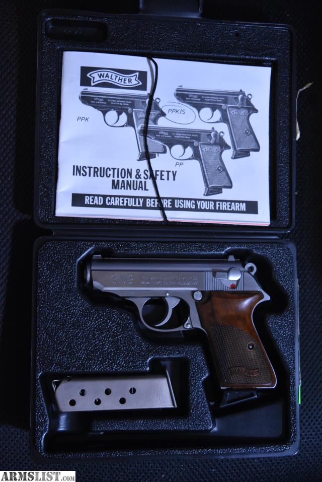 armslist for sale interarms walther ppk s 380 original box rh armslist com Walther PPK 380 Auto Walther PPK 380 Problems