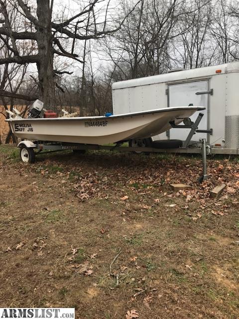 Armslist for sale j16 carolina skiff boat motor and for Trolling motor for 18 foot boat