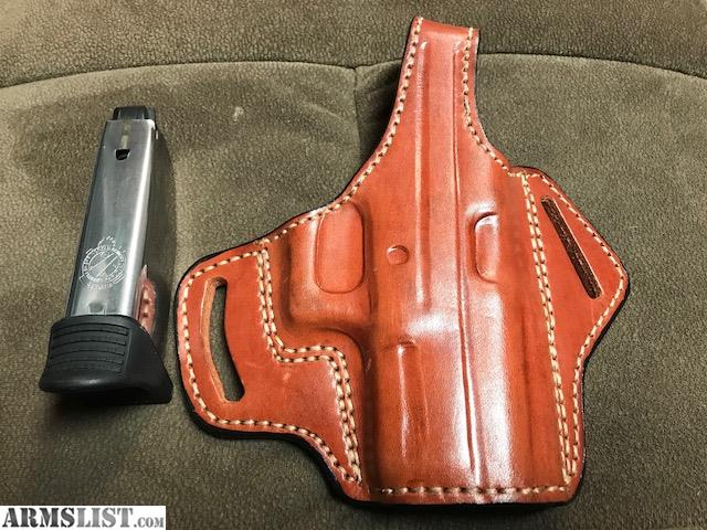 ARMSLIST - For Sale: Springfield XDm 45 3 8 Leather Holster
