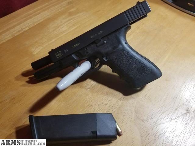 ARMSLIST - For Sale: Glock 20 GEN 3 -10mm