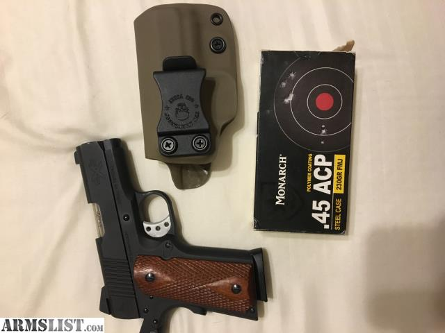 ARMSLIST - For Sale/Trade: 1911 ATI Titan 45acp Compact with