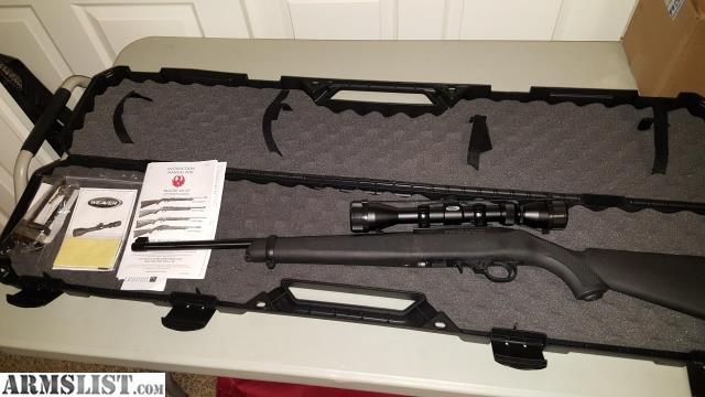 Choice Home Warranty Vendor Login >> ARMSLIST - For Sale: Ruger 10/22 w/3-9x40 scope and hard case