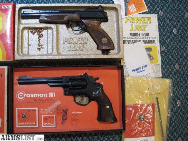 ARMSLIST - For Sale: Vintage Crosman & Daisy BB Gun Pellgun