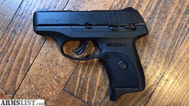 ARMSLIST - For Sale: NEW RUGER EC9S 9MM PISTOL