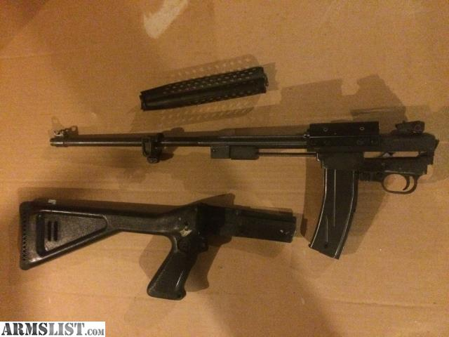 M Carbin on M1 Carbine Pistol Grip Stock