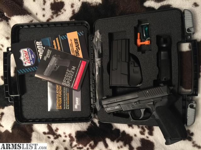 ARMSLIST - For Trade: Sig 2022
