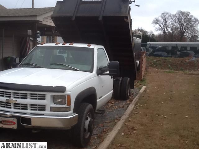 armslist for sale chevy cheyenne 3500 4x4 dump truck. Black Bedroom Furniture Sets. Home Design Ideas