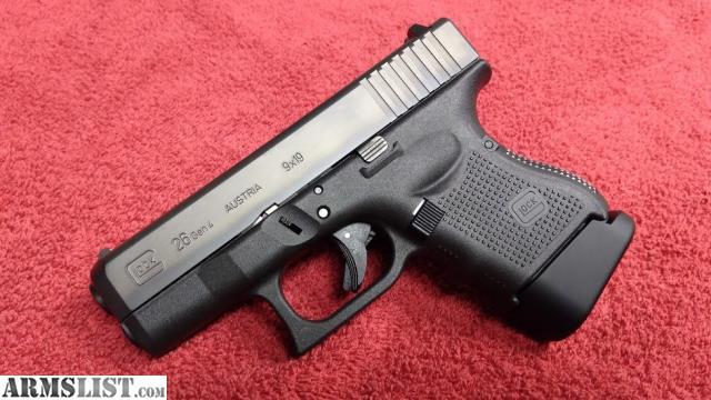 ARMSLIST - For Sale/Trade: Glock 26 gen4 LNIB Hyve extension