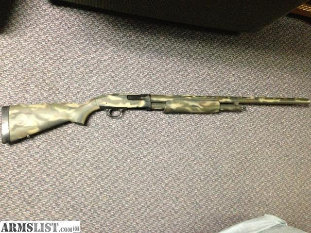 ARMSLIST - For Sale: Camo Mossberg 12ga