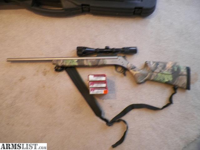 ARMSLIST - For Sale:  35 Whelen single shot with scope and ammo