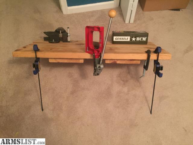 Armslist For Sale Portable Reloading Bench W Lee Press Bench