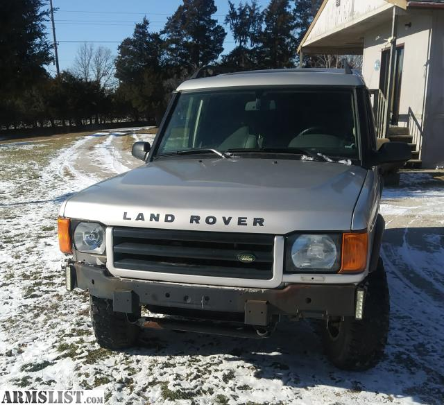 For Sale: 2000 Land Rover Discovery 2