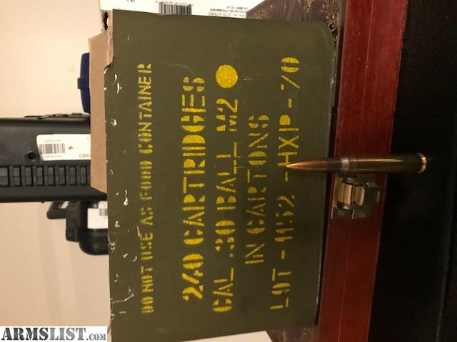 ARMSLIST - For Sale: HXP Cal .30-06 Surplus Ammo 240 Rds