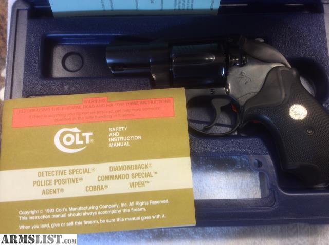 ARMSLIST - For Sale: Colt Detective Special