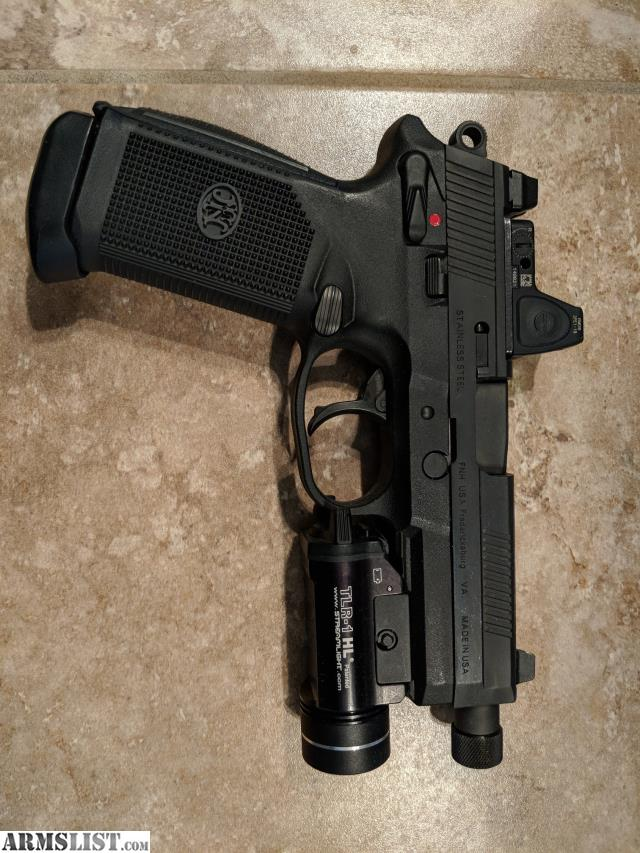 ARMSLIST - For Sale/Trade: FNX 45 Tactical w/ RMR