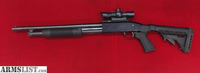 Armslist for sale maverick 88 12ga pump w red dot inv for Golden nugget pawn jewelry holiday fl