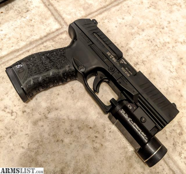 ARMSLIST - For Sale/Trade: Walther PPQ M2  45 w/ TLR-1 and