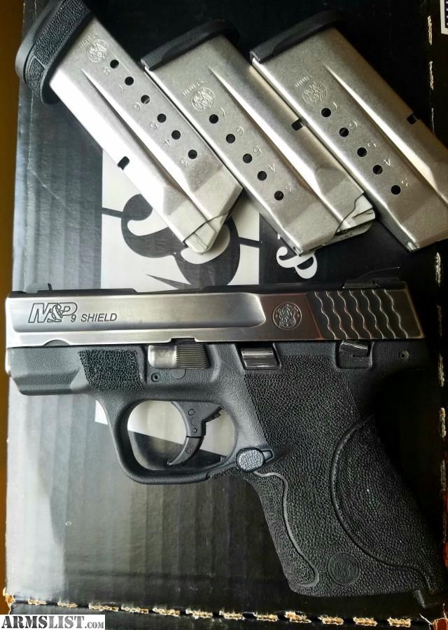M And P Shield Custom ARMSLIST - For Sale: M...
