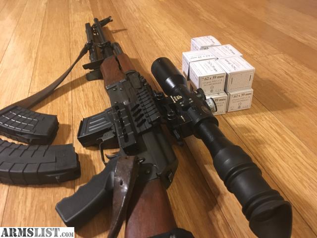 ARMSLIST - For Sale: Yugoslavian RPK with Russian scope