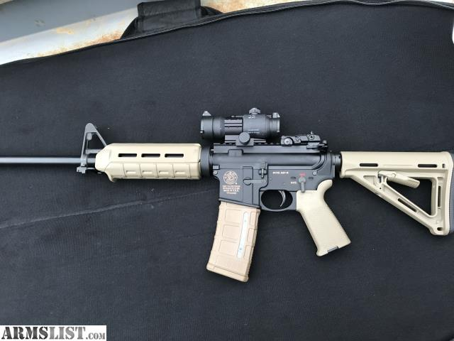 Armslist For Sale Hardly Used Smith And Wesson Ar15