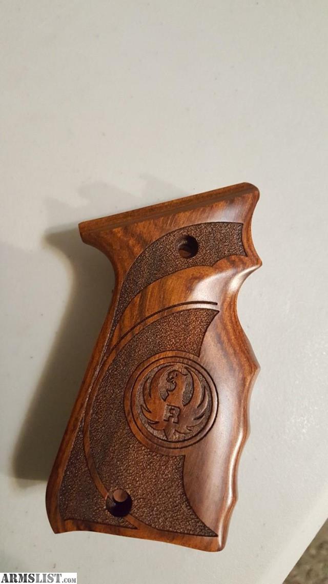 Armslist for sale ruger mark iii target laminated wood grip for Laminated wood for sale