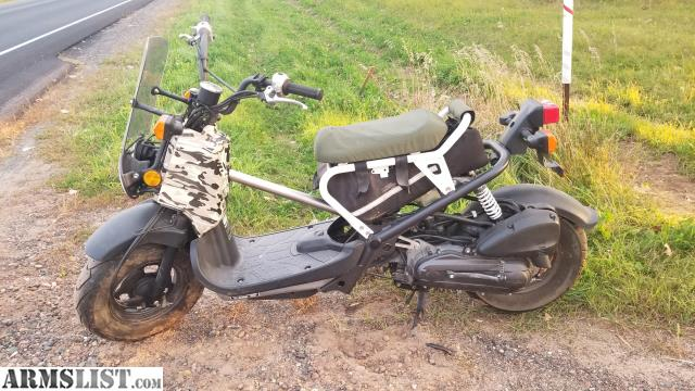 armslist for sale trade 2006 honda ruckus and all accessories. Black Bedroom Furniture Sets. Home Design Ideas